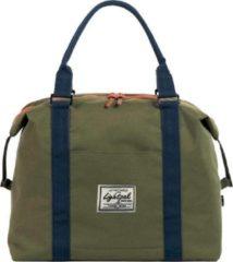 Juscha *damestas Lightpack sweetbox 36 x 27 x 13 cm groen-blauw