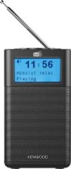 Zwarte Kenwood Audio KENWOOD CR-M10DAB DAB+ Radio with Bluetooth/FM black