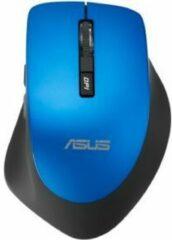 Blauwe ASUS WT425 muis RF Draadloos Optisch 1600 DPI Rechtshandig