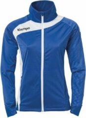 Kempa Peak Multi Jacket Dames Royal Blauw-Wit Maat L