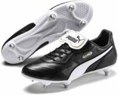 Puma King Top SG Sportschoenen - Maat 44.5 - Mannen - zwart/wit/goud