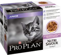 Pro Plan Cat Nutri Savour Junior Multipack - Kattenvoer - Kalkoen 10x85 g