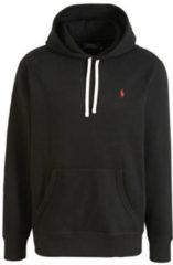 Zwarte Sweater Polo Ralph Lauren SWEAT A CAPUCHE MOLTONE EN COTON LOGO PONY PLAYER