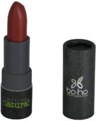 Bruine Boho Lipstick Mat Transparant Coquelicot 307 (mat transparant)