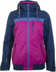 Icepeak Keira Wintersportjas - Maat 36 - Vrouwen - roze/blauw