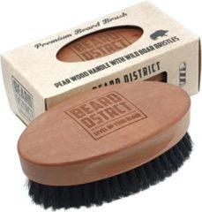 Bruine Beard District - Baardborstel / Beard Brush Medium Bristles DECEMBEARD AANBIEDING