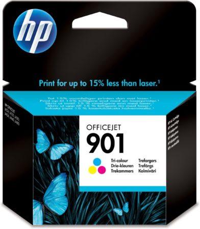 Afbeelding van Paarse HP 901 - Inktcartridge / 3 Kleuren