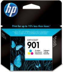 Paarse HP 901 - Inktcartridge / 3 Kleuren
