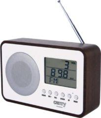 Camry CR 1153 radio Draagbaar Digitaal Bruin, Grijs, Wit