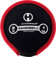 Zwarte Hyperwear SandBell 1 kg