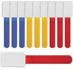 Rode InLine Klettbinder LTC Mini label kunsstofhülle bunt