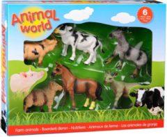 Bruna B.V. Eigen Uitgaven Animal World boerderijdieren assortiment in doos