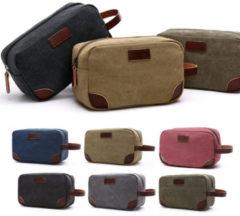 Meco Portable Mens Toiletry Bag Women Travel Wash Shower Bag Organizer Kit Cosmetic Bag 24x14x10cm