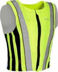 Gele Oxford clothing Running Vest / Sportvest / Veiligheidshesje / Oxford Stretch-Fit - Maat XS