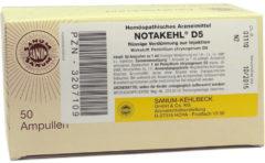 Notakehl D 5 Ampullen