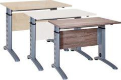 Schreibtisch Computertisch PC Laptop Büro Tisch Höhenverstellbar Braso 215 VCM Buche
