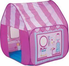 Imaginarium Poppy Beauty Salon - Opvouwbaar Speelhuis - Roze - Tent voor kinderen