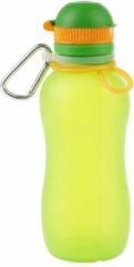 Zielonka Viv Bottle 3.0 - Opvouwbare Siliconen Drinkfles / Bidon - Groen - 500ML