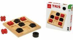 Dal Negro Boter, Kaas En Eieren 21 Cm Hout Zwart/rood 3-delig