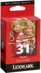 Rode Lexmark 31 Inktcartridge - Geel / Magenta / Cyaan