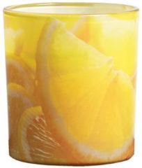 Gele Bolsius KBO CITRONELLA GEURKAARS IN GLAS