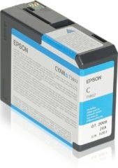 Epson T5802 inkt cartridge cyaan (origineel)