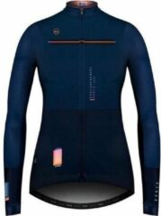 Blauwe Gobik Women's Long-Sleeved Jersey Cobble Saphire XL