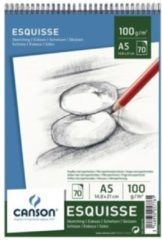 Schetsboek Canson A5 100gr 70vel