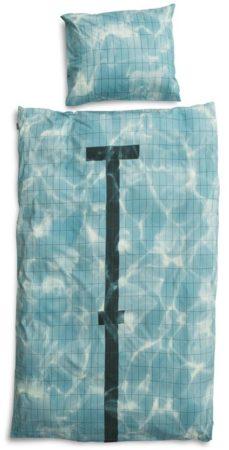 Afbeelding van Snurk Beddengoed SNURK Pool dekbedovertrek - 1-persoons (140x200/220 cm + 1 sloop)