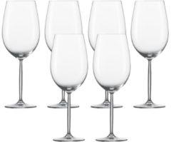 """Schott Zwiesel 104102 """"Diva"""" Rotweinglas / Bordeauxkelch, 770ml, H 27,5cm, klar (1 Stück)"""