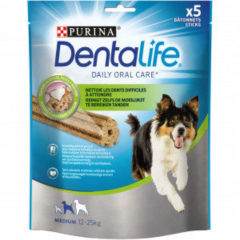 Purina Dentalife Daily Oral Care - Hondensnacks - 115 g 5 stuks Medium - Hondenvoer