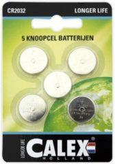 Calex batterij CR2032 per kaart a 5 stuks
