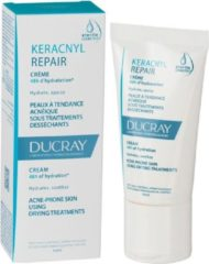 Ducray Dagcrème Keracnyl Repair Crème 48h D'Hydration