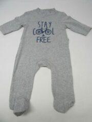 Wiplala , pyjama grijst stay cool & free 6 maand 68