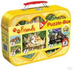 Schmidt Puzzel Huisdieren - 2 X 26 En 2 X 48 Stukjes