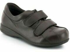 Bruine Lage Sneakers Calzamedi SCHOENEN PIE DIABETICO