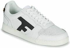 Witte Sneakers HAZEL BASKETS LEATHER M by Faguo