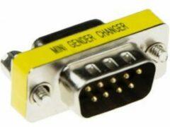 Zilveren ACT Intronics D-sub adapter 9-polig - 9-polig