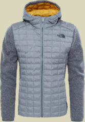 The North Face Thermoball Hybrid Gordon Lyons Hoodie Men Herren Hybrid Fleecejacke Größe S monument grey