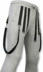 DANIELE VOLPE Casual Joggingbroek - Basic Braces - Grijs - Maten: XL