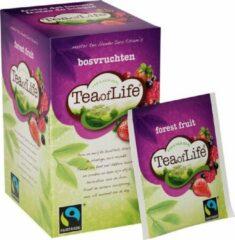 Tea of Life bosvruchten 4 * 20 zakjes