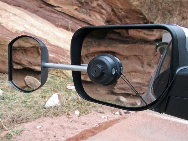 Easy Mirror Caravanspiegel Defa.Zwarte Defa Caravanspiegel Easy Mirror Flat Bestuurder