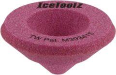 Roze IceToolz schuurblok schuine buiseinden 24016B1