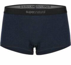 Super.natural - Women's Base Boyfriend Hipster 175 - Merino-ondergoed maat XS, zwart
