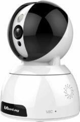Witte Vimtag CP3(4M)-AI Smart Cloud IP Camera, 4M sensor, 2624*1512, Pan,Tilt, Zoom, Wifi & LAN IP-beveiligingscamera Binnen Dome Bureau 2624 x 1512 Pixels