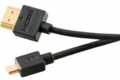 Akasa AK-CBHD14-20BK HDMI kabel 2 m HDMI Type A (Standard) HDMI Type D (Micro) Zwart