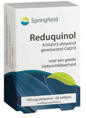 Springfield Nutraceuticals Springfield Reduquinol 100 mg 60 softgels