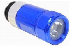 Blauwe CON-P B29885 Oplaadbare LED Zaklamp