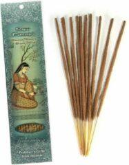 Prabhuji's Gifts Wierooksticks handgerold, 'Ragini Padmanjari' met kustbloemen en zoete musk