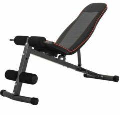 Rode Gorilla Sports Buikspierbank - Halterbank - Fitnessbank - Verstelbaar - Belastbaar tot 150 kg